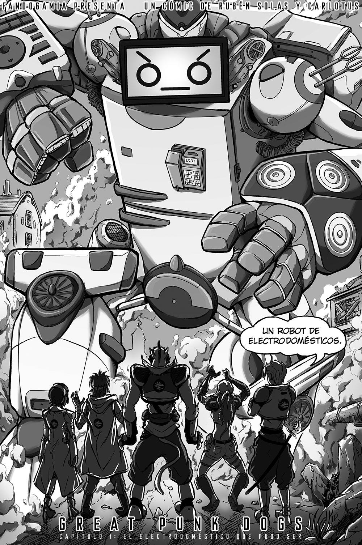 Aun estoy pensando un nombre para el robot... porque volverá.
